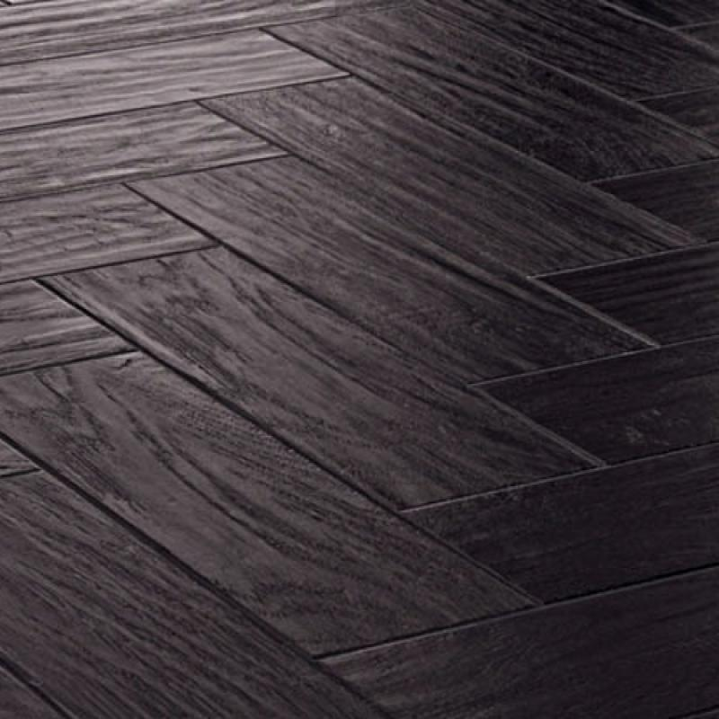 Karndean art select ap03 black oak vinyl flooring for Dark wood vinyl flooring