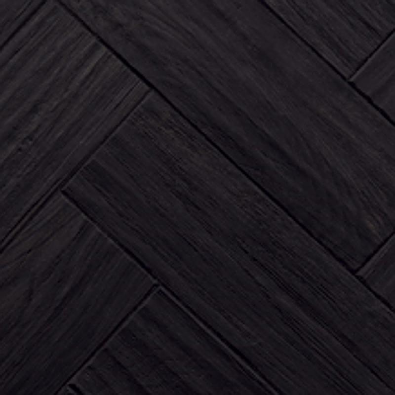 Black Vinyl Kitchen Flooring: Karndean Art Select AP03 Black Oak Vinyl Flooring