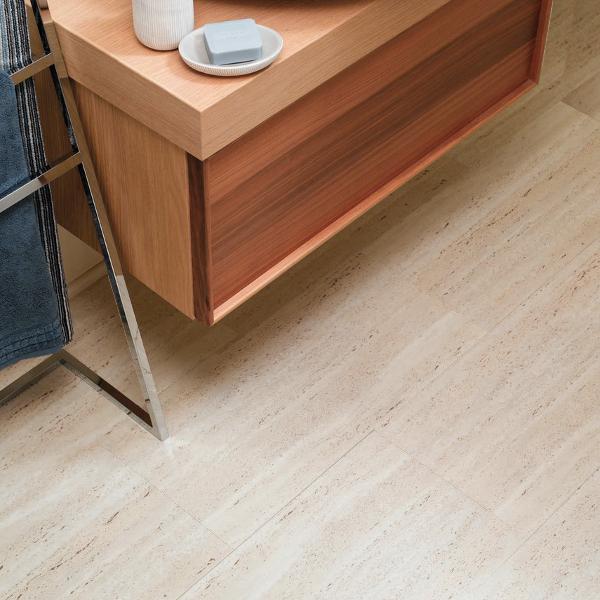 Aqua Tile Flagstone Waterproof Click Vinyl Flooring ...