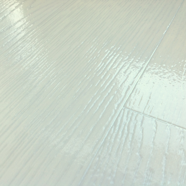Cosystep Glossy White Oak Plank 0759 Cushioned Vinyl