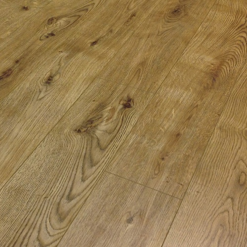 Prestige 7mm v groove oxford oak click laminate flooring for Direct flooring