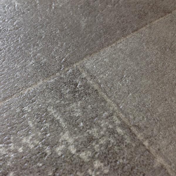 Rhinofloor options tiles feinstein pewter 5762061 for Cushioned linoleum flooring