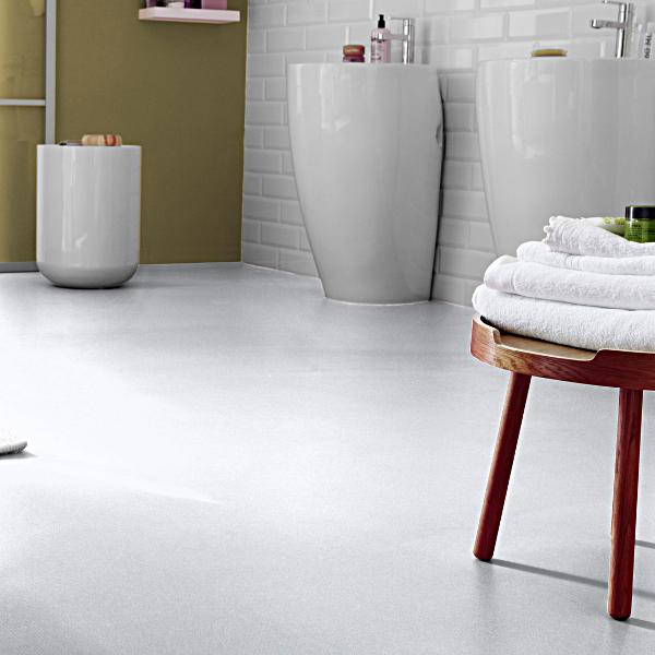 Tarkett modern living dj white cushioned vinyl flooring for White linoleum flooring
