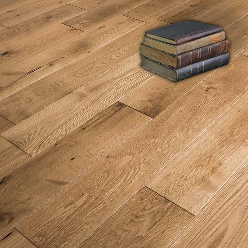 Abbey rimi oak rustic lacquered 90mm factory direct flooring for Real solid wood flooring