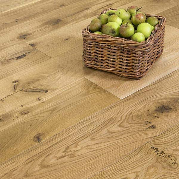 Abbey Boxley Oak Lacquered 21mm Plywood Core Engineered Flooring ...