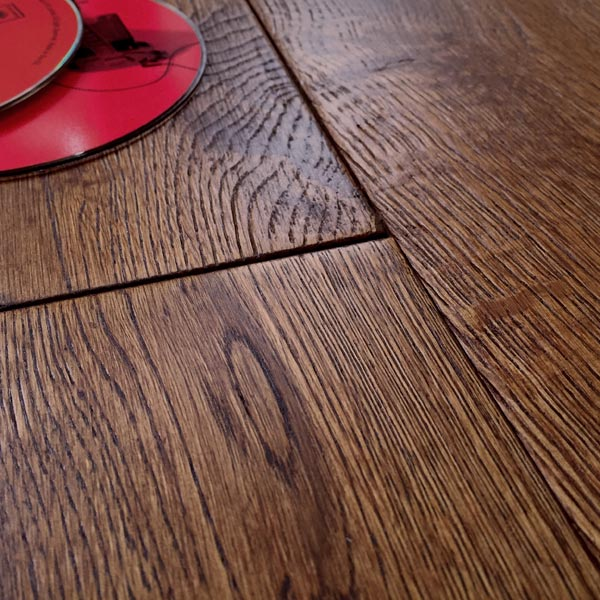 Abbey howth golden oak 125mm rustic brushed matt lacquered for Abbey floor