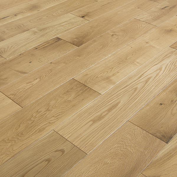 Abbey saddell oak rustic 150mm lacquered solid wood floor for Abbey floor