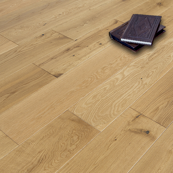 Abbey sawtry 14mm oak brushed matt lacquer engineered wood for Abbey floor
