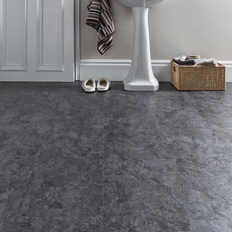 Aqua Tile 5g Striking Slate Click Vinyl Flooring 875