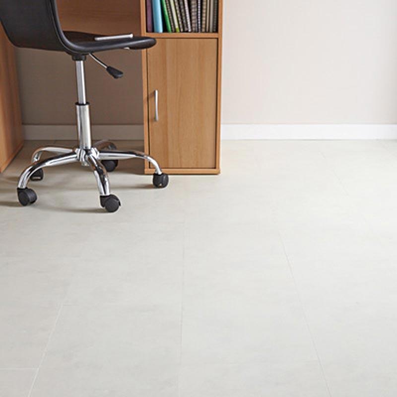Aqua Tile 5g White Marble Click Vinyl Flooring 649