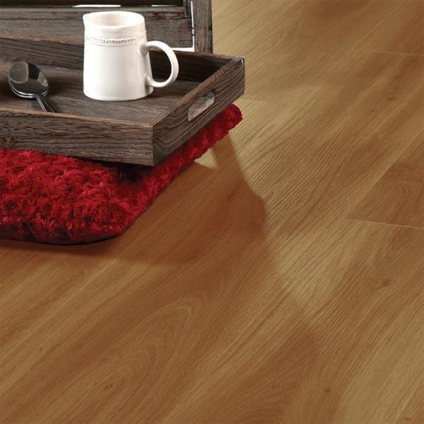 Aqua Plank Natural Golden Oak Click Vinyl Flooring