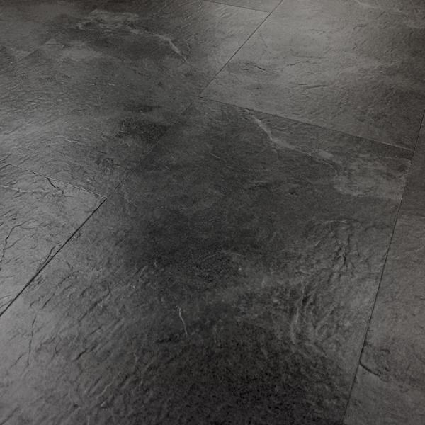 Aqua Tile Perlato Slate Click Vinyl Flooring