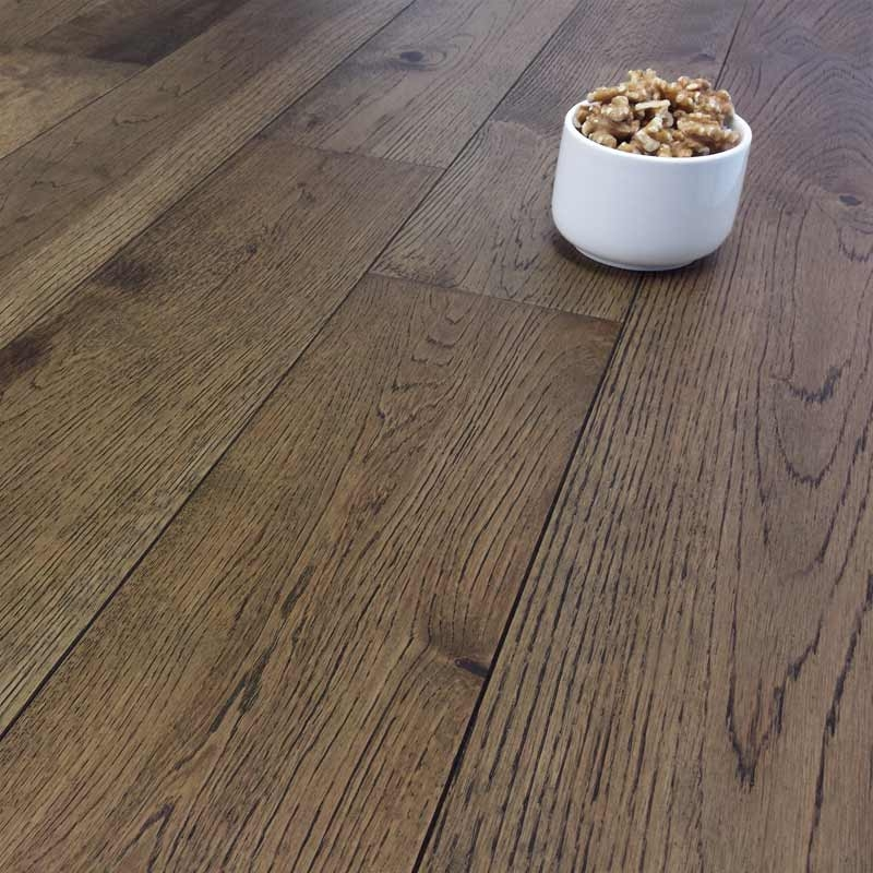Carswell Smoke Stained Oak Brushed Matt Lacquer 14mm