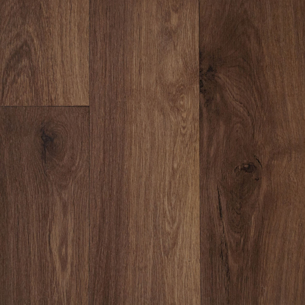 Cosystep dark oak plank 3769 cushioned vinyl flooring for Cushioned vinyl flooring
