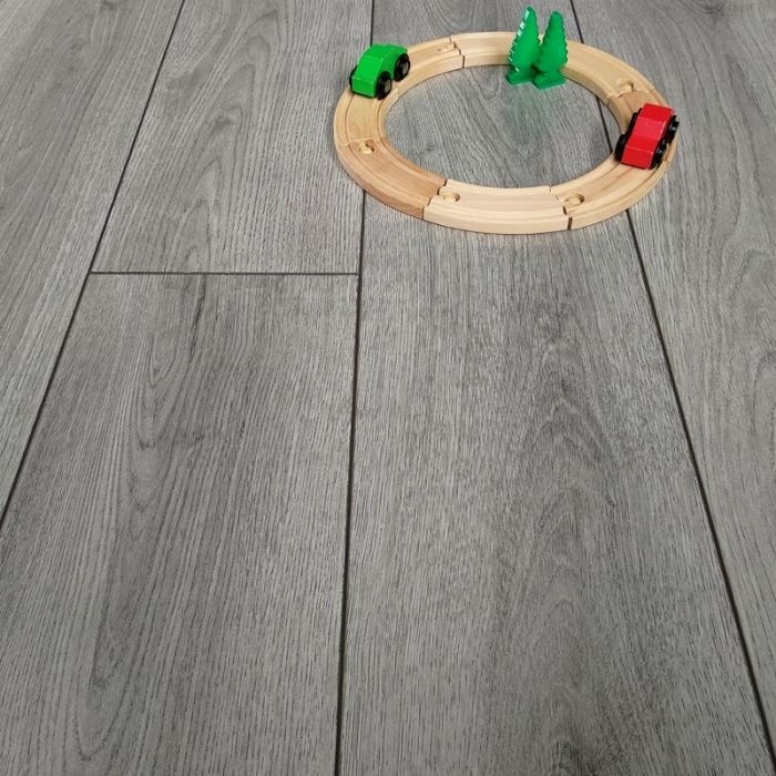 Wood and Laminate Floor Edging Square Edge Silver 900mm