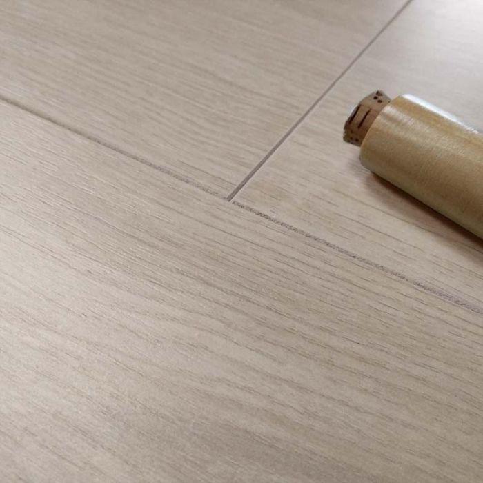 Prestige Beige Oak 7mm V Groove, Prestige Laminate Flooring Reviews