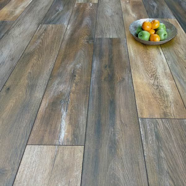 Prestige Plus 12mm Mocha Rustic Oak Ac5, Mocha Oak Laminate Flooring