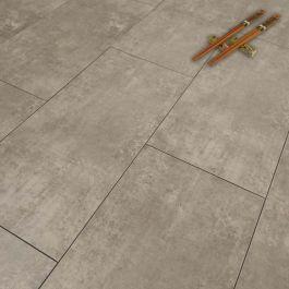 Aquastep Plus Beton Cire Waterproof Tile 4v Laminate Flooring