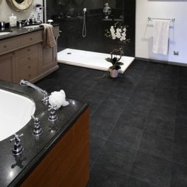 Goliath Jewel Anthracite Vinyl Flooring