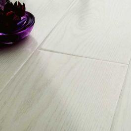 Prestige Gloss White Oak 8mm V Groove Laminate Flooring