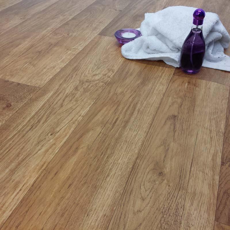 Ecostep swiss oak 006 cushioned vinyl flooring factory for Cushioned vinyl flooring