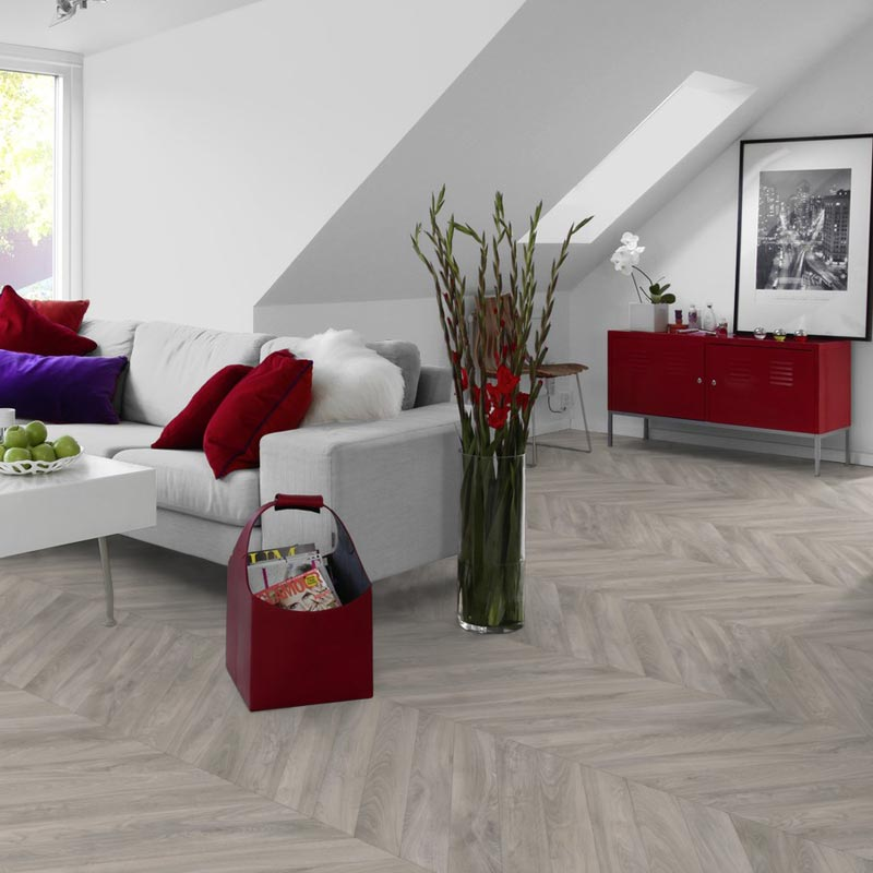 Goliath Haussmann Light Grey Vinyl Flooring