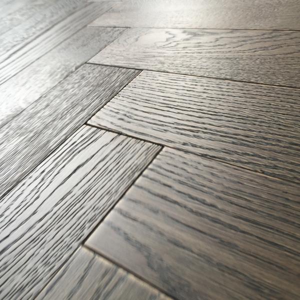 herringbone parquet 18mm barn oak brushed matt lacquer. Black Bedroom Furniture Sets. Home Design Ideas
