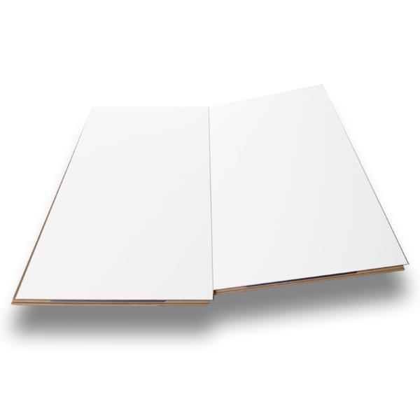 Kronotex gloss white laminate tiles factory direct flooring for Kronotex laminate flooring installation
