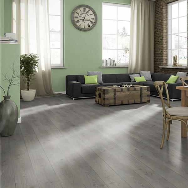 Megafloor Southland Oak Grey 11mm Laminate Flooring Factory Direct