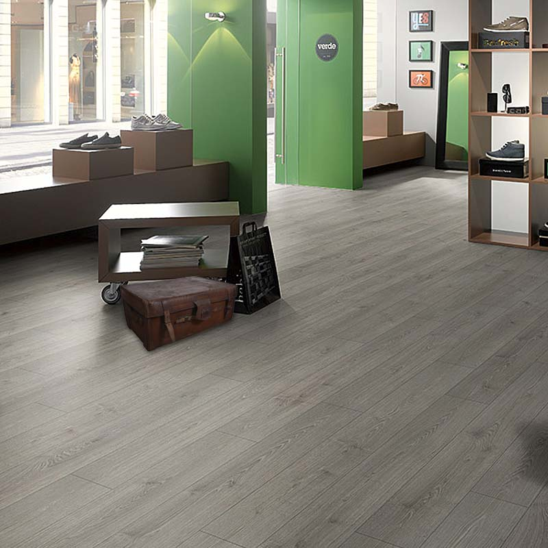 Megafloor southland oak grey 11mm laminate flooring Gray laminate flooring