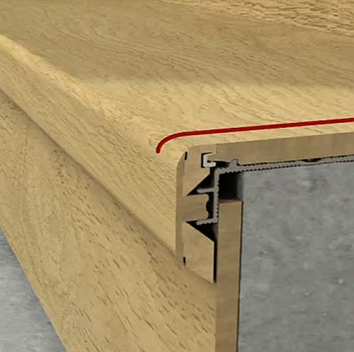 Quick Step Stair Nosing Incizo Factory Direct Flooring