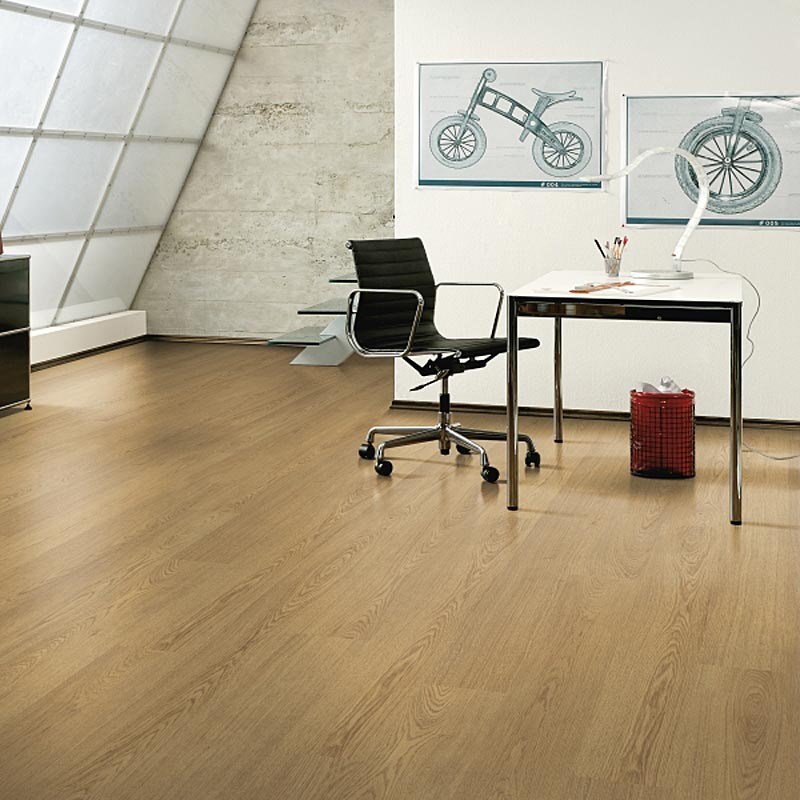 Prestige oak york 8mm v groove laminate flooring factory for Laminate flooring york