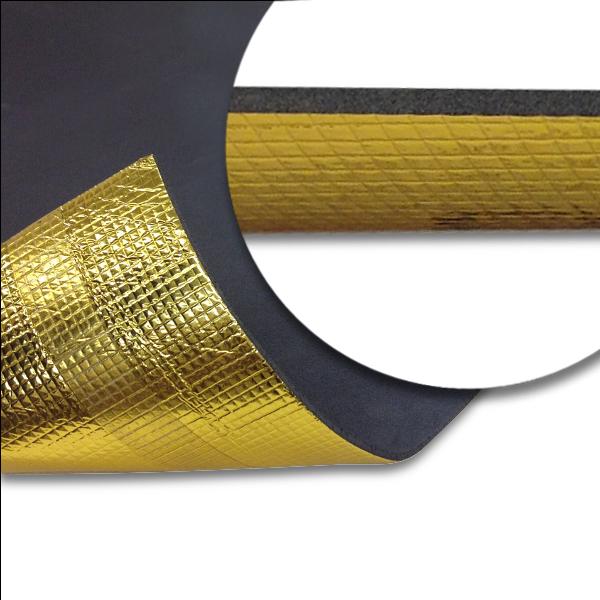 Acoustic Gold Underlay Vapour Barrier Underlay For