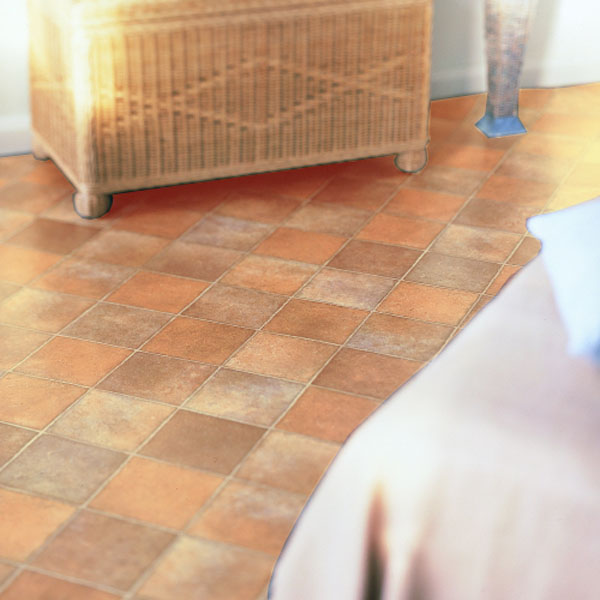 Rhinofloor Elite Tiles Chateau Tan 5765005 Vinyl Flooring