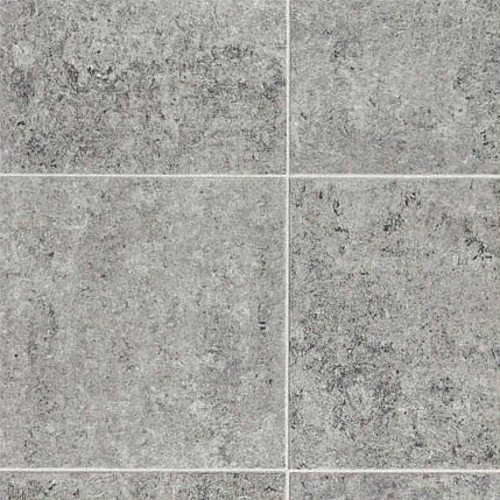 Rhinofloor options tiles kiev mid grey 5762015 cushioned for Cushioned vinyl floor tiles
