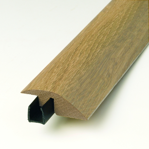 Hardwood floor profile reducer ewa14 factory direct flooring for Floor profile