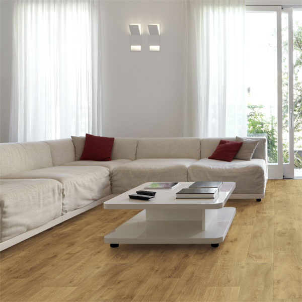 Texstep wide plank country oak 621l cushioned vinyl - Cushion flooring for living rooms ...