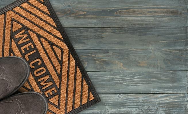 An image of a doormat