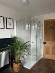 Bathroom Vinyl Flooring Renovation After