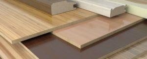 Image of engineered wood selection