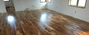 Image of room with wooden floor