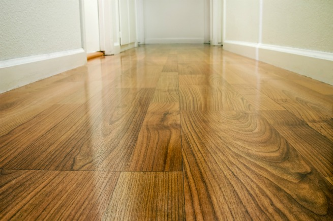 hallway wood floor