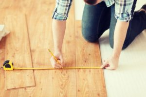 image of measuring floor