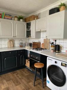 Kitchen After Vinyl Flooring Installation1