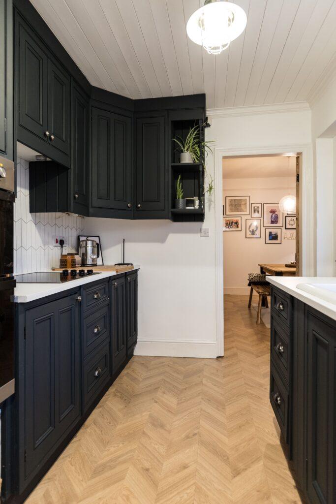 Kitchen Parquet - Chevron