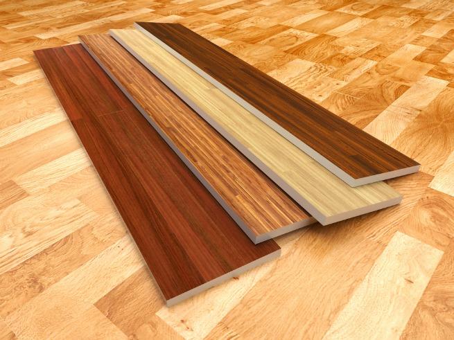 image of laminate planks