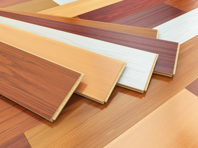 An image showing a variety of laminate floors