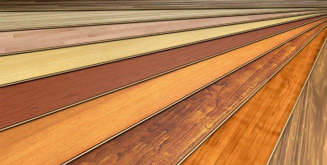 An image of a variety of laminate flooring