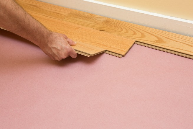 How To Lay Flooring On Concrete, Installing Laminate Flooring On Concrete