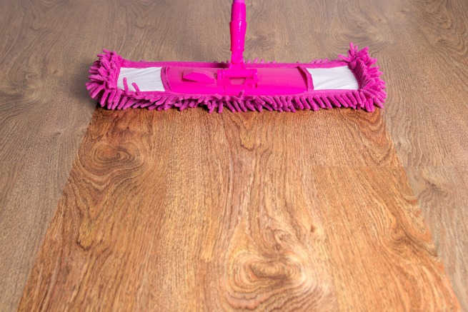Image of best cleaner for wood floor